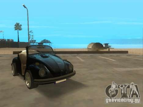 Volkswagen Beetle 1984 для GTA San Andreas вид слева