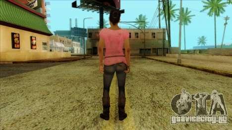 Rochelle from Left 4 Dead 2 для GTA San Andreas второй скриншот