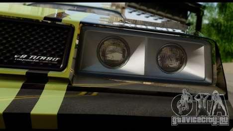 GTA 5 Imponte Phoenix IVF для GTA San Andreas вид сзади
