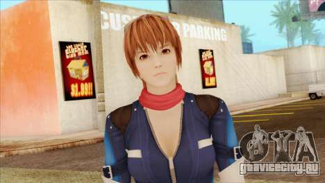 Dead Or Alive 5 LR Kasumi Fighter Force для GTA San Andreas третий скриншот