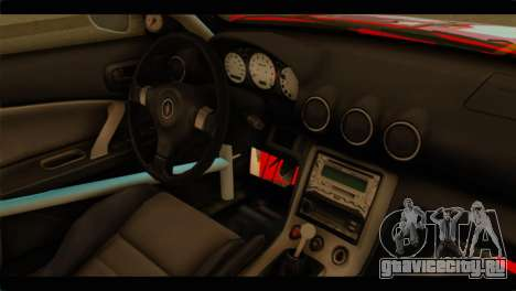 Nissan Silvia S15 Drift Hirasawa Yui Itasha для GTA San Andreas вид справа
