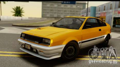 GTA 4 Blista Compact для GTA San Andreas