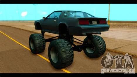 Monster Buffalo для GTA San Andreas вид слева