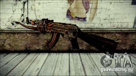AK-47 Inferno для GTA San Andreas второй скриншот