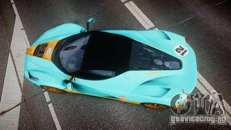 Ferrari LaFerrari 2013 HQ [EPM] PJ1 для GTA 4 вид справа
