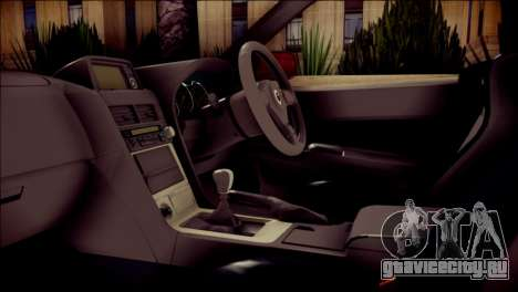 Nissan Skyline GTR V Spec II для GTA San Andreas вид справа