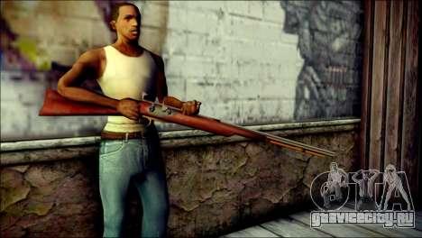 Tokisaki Kurumi Rifle для GTA San Andreas третий скриншот