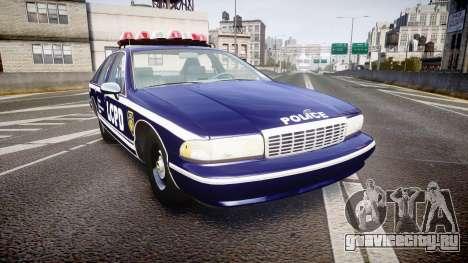 Chevrolet Caprice 1994 LCPD Auxiliary [ELS] для GTA 4