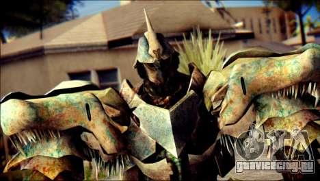 Grimlock Skin from Transformers для GTA San Andreas третий скриншот