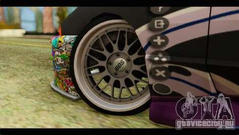 Elegy Sinon PJ для GTA San Andreas вид сзади слева