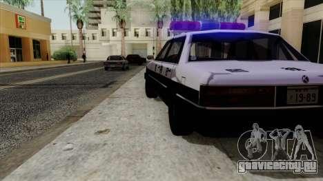 Karin Primo Police для GTA San Andreas вид справа