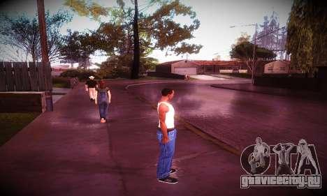 Ebin 7 ENB для GTA San Andreas четвёртый скриншот