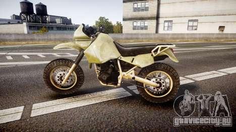 Dirt Bike для GTA 4 вид слева