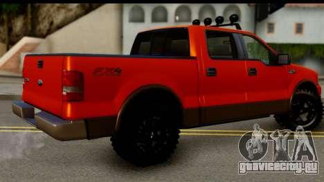 Ford F-150 4x4 для GTA San Andreas вид слева