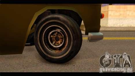 Chevrolet 56 для GTA San Andreas вид сзади слева