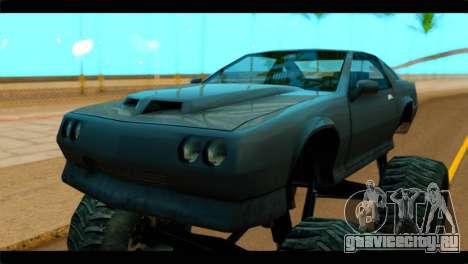Monster Buffalo для GTA San Andreas вид справа