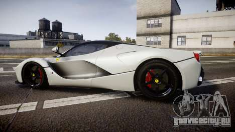 Ferrari LaFerrari 2013 HQ [EPM] для GTA 4 вид слева