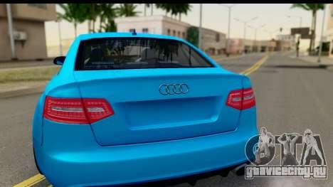Audi RS6 Vossen для GTA San Andreas вид справа