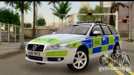 Volvo V70 Kent Police для GTA San Andreas