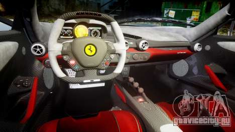 Ferrari LaFerrari 2013 HQ [EPM] для GTA 4 вид изнутри