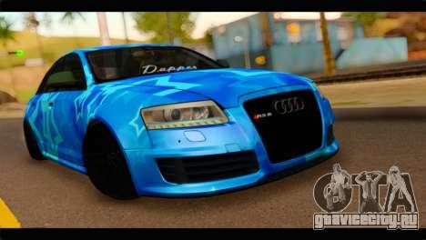 Audi RS6 VIP Star для GTA San Andreas