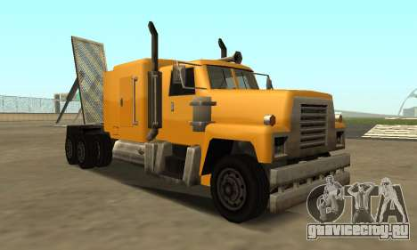 PS2 Tanker для GTA San Andreas вид слева