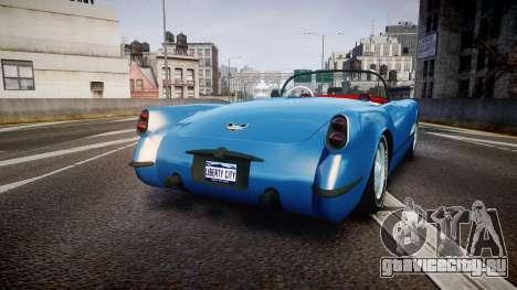 Mafia II Shubert Frigate [EPM] для GTA 4 вид сзади слева