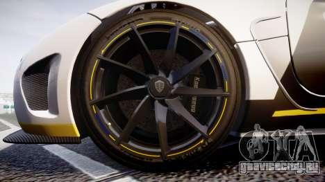 Koenigsegg Agera 2013 Police [EPM] v1.1 PJ1 для GTA 4 вид сзади