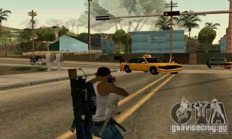M4A1 Hyper Beast для GTA San Andreas третий скриншот
