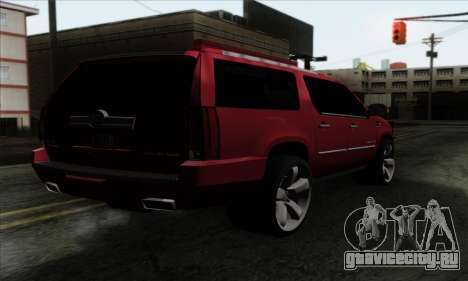 Cadillac Escalade 2013 для GTA San Andreas вид слева