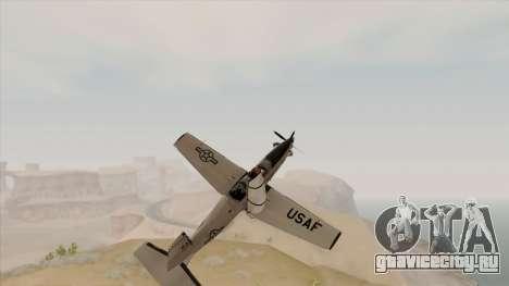 EMB T-6A Texan II US Navy для GTA San Andreas вид справа