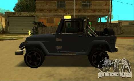Mesa Final для GTA San Andreas вид сзади