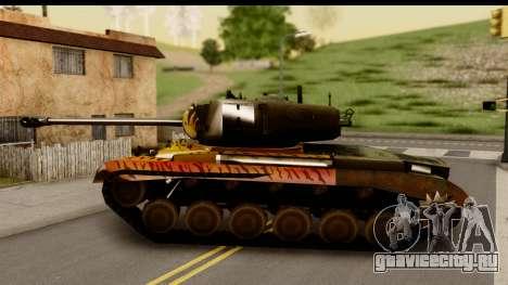 M26 Pershing Tiger для GTA San Andreas вид слева