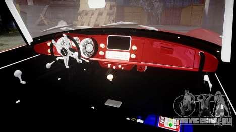 BMW 507 1959 Stock Hamann Shutt VX4 [RIV] для GTA 4 вид изнутри