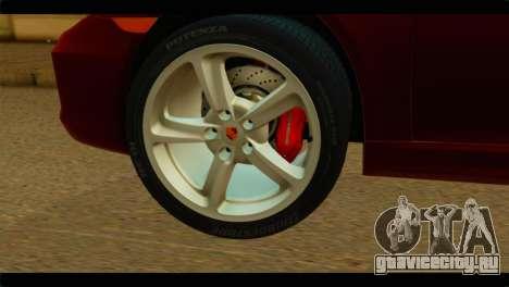 Monster Picador для GTA San Andreas вид сзади слева