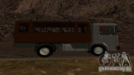 Roman Bus Edition для GTA San Andreas вид справа