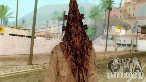 Bogeyman Alex Shepherd Skin without Flashlight для GTA San Andreas третий скриншот