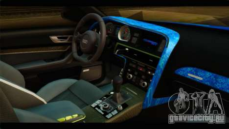 Audi RS6 VIP Star для GTA San Andreas вид справа