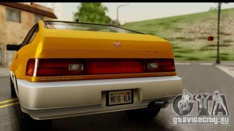 GTA 4 Blista Compact для GTA San Andreas вид справа