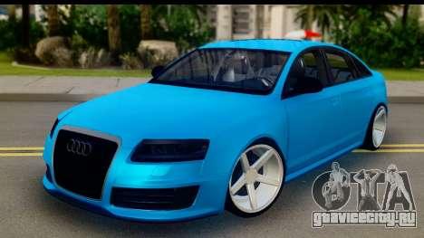 Audi RS6 Vossen для GTA San Andreas