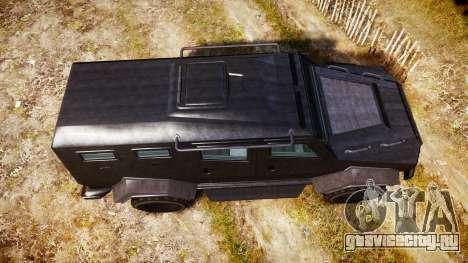 GTA V HVY Insurgent для GTA 4 вид справа