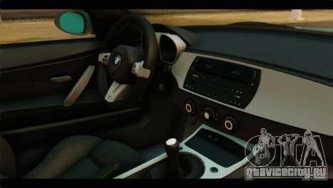 BMW Z4M Coupe для GTA San Andreas вид справа