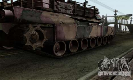 M1A2 Abrams Autumn Camo для GTA San Andreas вид сзади