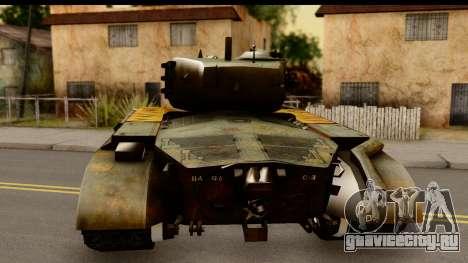 M26 Pershing Tiger для GTA San Andreas вид сзади слева