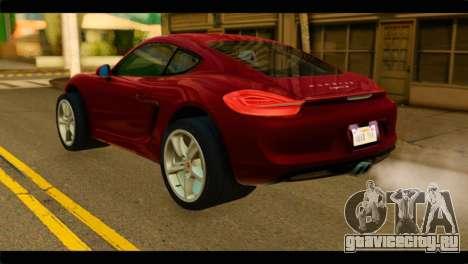 Monster Picador для GTA San Andreas вид слева