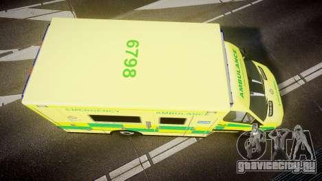 Mercedes-Benz Sprinter Ambulance [ELS] для GTA 4 вид справа