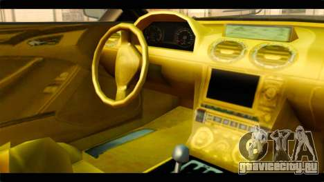 GTA 5 Ocelot F620 для GTA San Andreas вид справа