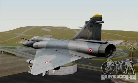 Dassault Mirage 2000-5 ACAH для GTA San Andreas вид слева