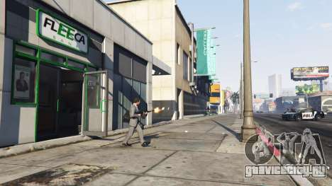 Ограбление банка v0.11 для GTA 5 третий скриншот