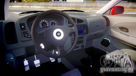 Mitsubishi Lancer Evolution VI 2000 Rally для GTA 4 вид сзади